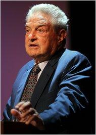 Philanthropist George Soros